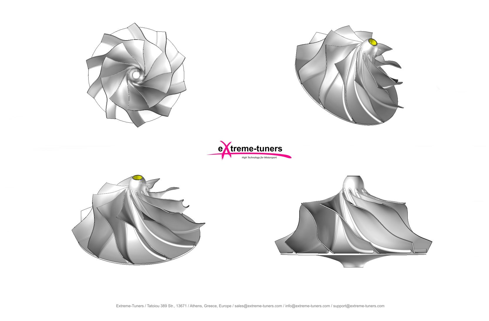 Gen2 compressor wheel